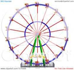 Ferris Wheel clipart fair ride