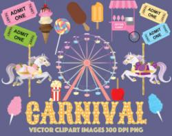 Carousel clipart ticket