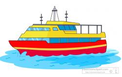 Sailboat clipart ferry boat