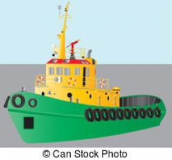 Yacht clipart barge