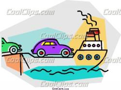 Ferry clipart barge