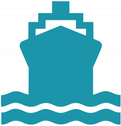 Ferry clipart icon