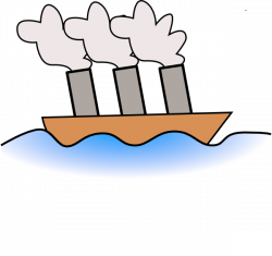 Ferry clipart steamer boat