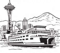 Ferry clipart travel