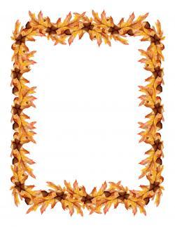 Frame clipart leave