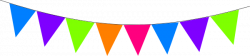 Festival clipart bunting