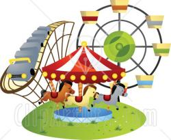 Playground clipart fair ride