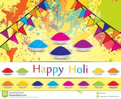 Indian clipart holi