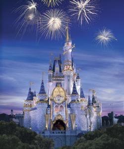 Fireworks clipart castle