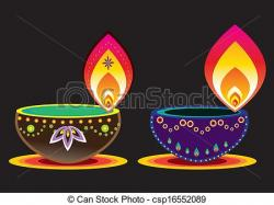 Lamps clipart diwali lamp