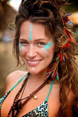 Festival clipart face painting