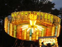 Festival clipart fairground rides