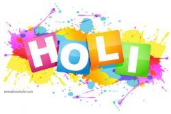 Festival clipart holi colour