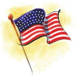 USA clipart independence