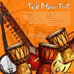 Festival clipart indian musical instrument