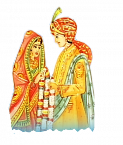 Indian clipart bride groom
