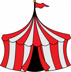 Tent clipart old fashioned