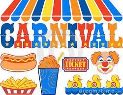 Carneval clipart kids carnival