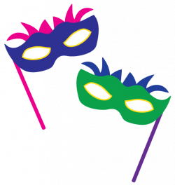 Mask clipart party