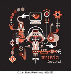 Festival clipart music festival