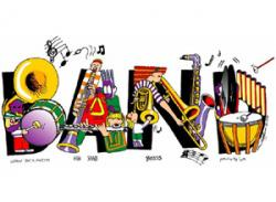 Festival clipart school band
