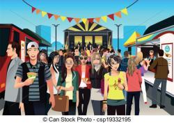 Festival clipart street festival