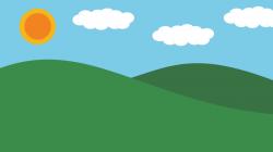 Wallpaper clipart meadow