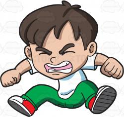 Anger clipart angry child