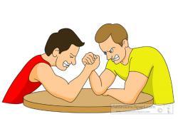 Wrestler clipart two
