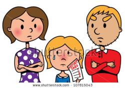 Violence clipart angry parent