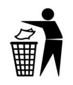 Litter clipart good citizenship