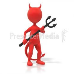 Satan clipart animated
