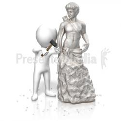 Carvings clipart statue