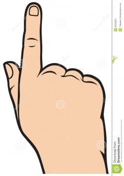 Pointer clipart index finger