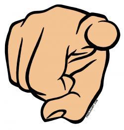 Finger clipart hey