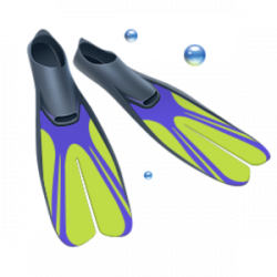 Flippers clipart fin
