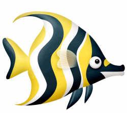 Butterflyfish clipart ocean creature