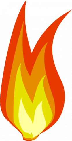 Fireplace clipart small fire