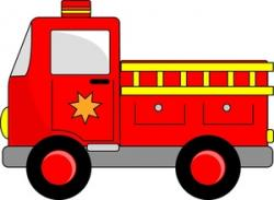 Vehicle clipart firefighter truck