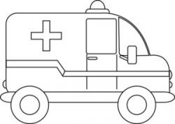 Emergency clipart black and white
