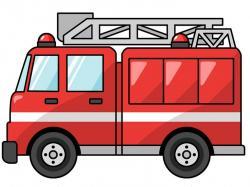 Fire Truck clipart australian