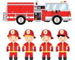 Fire Truck clipart fire rescue