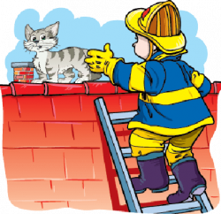 Firefighter clipart rescue