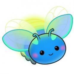 Glow clipart firefly