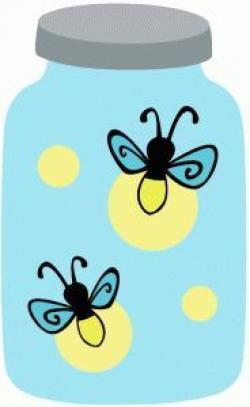 Firefly clipart blue
