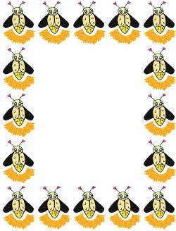 Firefly clipart border