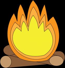 Camp Fire clipart cartoon