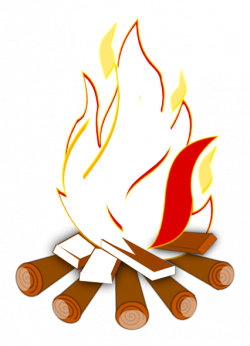 Fireplace clipart bon fire