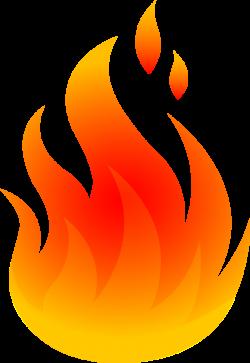 Bonfire clipart fire burning
