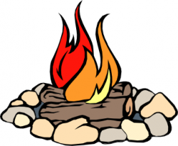 Campire clipart fire ring